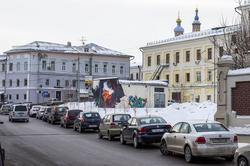 Граффити в центре города (Чернышевского/Дзержинского)