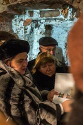 Фарида Забирова рассказывает участникам конференции о проделанной работе