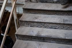Лестница в здании комплекса Адмиралтейской конторы. К.Маркса, 17