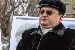 Семин Алексей Владимирович, 11.02.2013 на пресс-туре для журналистов по объектам реставрации