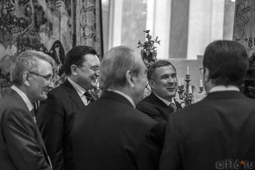 Встреча Президента Республики Татарстан Рустама Минниханова::Научно-практическая конференция ASG
