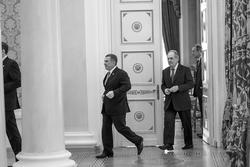 Рустам Минниханов, Минтимер Шаймиев