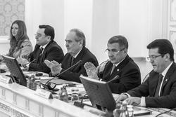 О.Балтусаова, А.семин, М.Шаймиев, Р.Минниханов, И.Метшин