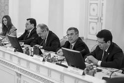 О.Балтусова, А.Сёмин, М.Шаймиев, Р.Минниханов, Р.Метшин