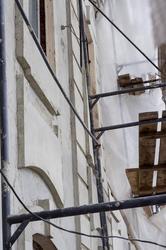 Адмиралтейская контора. Фасад здания. К.Маркса 17