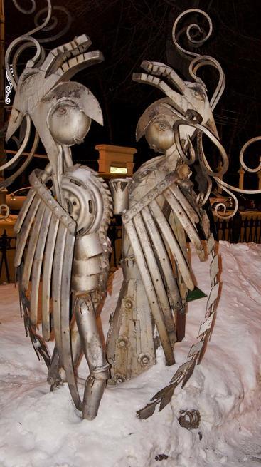 ʺИ была древняя легендаʺ. Скульптор, Дмитрий Прибыльнов. Установлена в 2007 г.::Прогулка по Перми