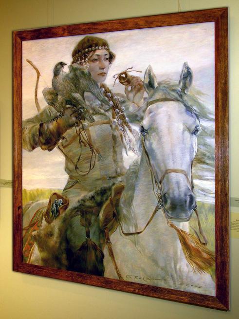 Сокол. 2002::29-04-08 Открытие выставки художников Татарстана