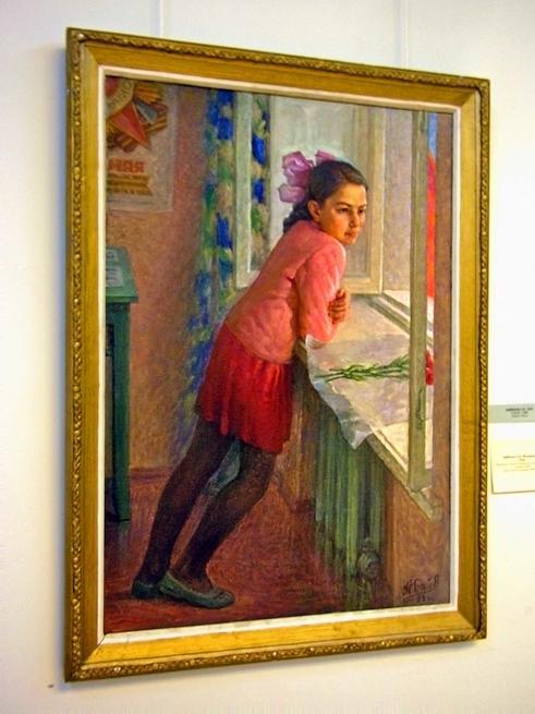 У окна. 1998г.::29-04-08 Открытие выставки художников Татарстана