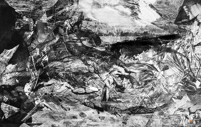 ИЗ ПОСВЯЩЕНИЙ Л.В.Б. (НА ТЕМУ МИКЕЛАНДЖЕЛО). 2000 ::«Пространство офорта» Александра Суворова