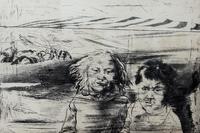БРАТ И СЕСТРА. Из серии «ТУВА». 1985