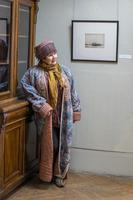 Файруза Масхут (Исхакова) на выставке  А.Суворова