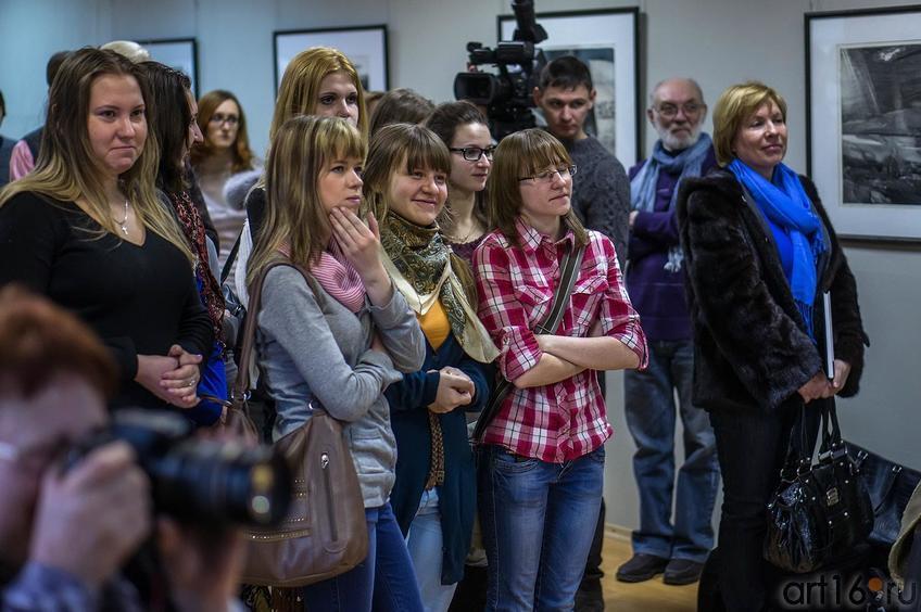 Фото №138452. На открытии выставки ''Пространство офорта'' А.Суворова