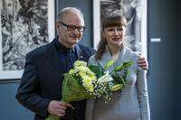 Александр Борисович Суворов с быв. ученицей, а теперь коллегой — Верой Карасёвой
