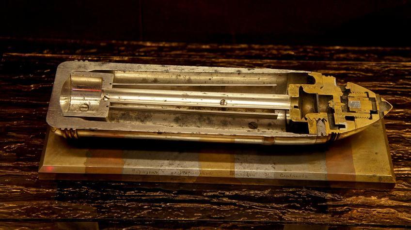 Фото №91544. Образец электрической отливки Н.Славянова