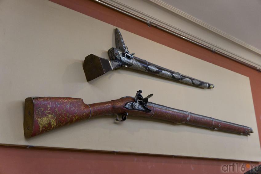 Фото №72030. Ружье кремнёвое, крепостное, Индия (?), XVIII