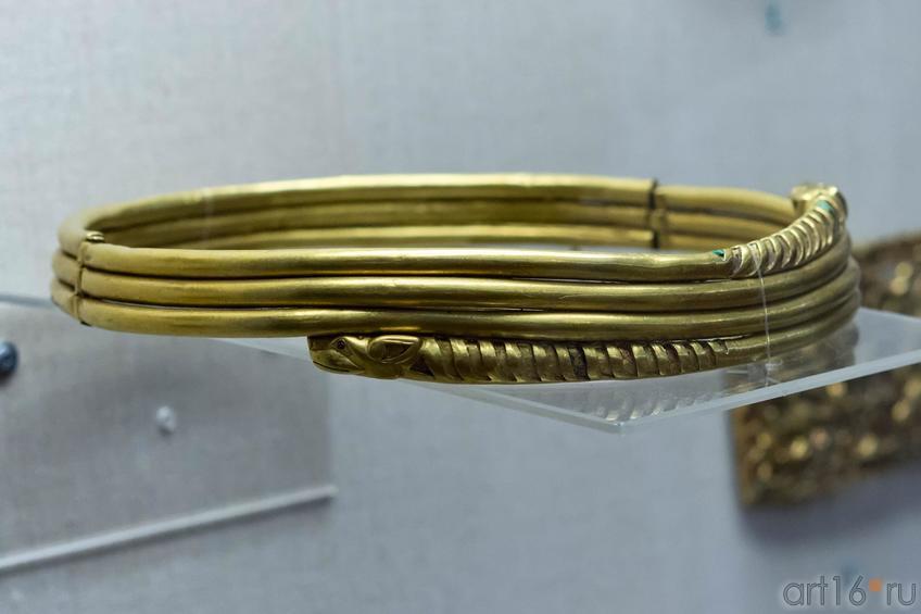 Фото №102671. Гривна с зооморфными концами  IV—II вв. до н.э.