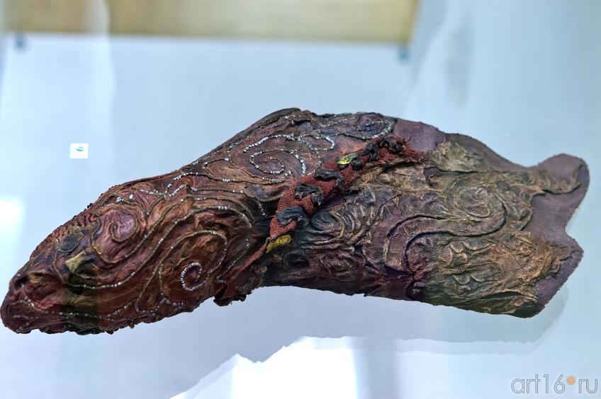 Фото №102691. Войлочный носочек V-IV в. до н.э.