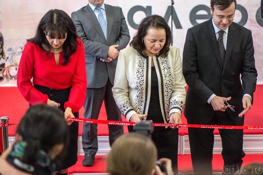 Церемония открытия  «Арт-галерея. Казань — 2013», 21.02.2013::Арт-галерея 2013 на Казанской ярмарке