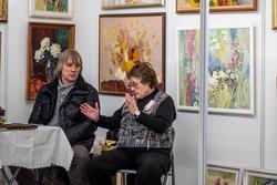 Стенд студии «Мария» (Казань) на «Арт-галерее. Казань — 2013»