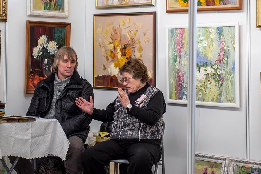 Фото №140007. Стенд студии «Мария» (Казань) на «Арт-галерее. Казань — 2013»