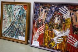 Работы В.Тимофеева на «Арт-галерее. Казань — 2013»
