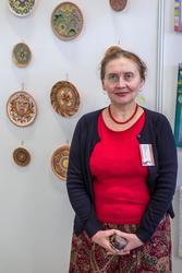 Нина Кузьминых на «Арт-галерее. Казань — 2013»