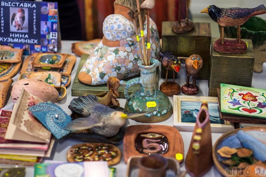 Работы Нины Кузьминых (галерея ʺСиняя птицаʺ)::Арт-галерея 2013 на Казанской ярмарке