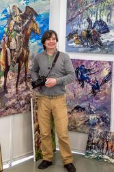 Александр Шадрин (Казань) на «Арт-галерее. Казань — 2012»