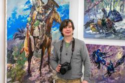 Александр Шадрин на «Арт-галерее. Казань — 2013»