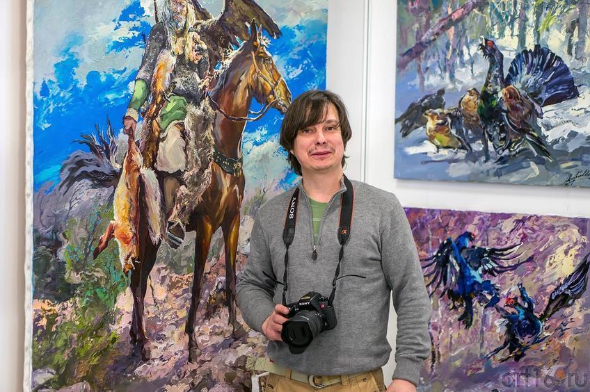 Александр Шадрин на «Арт-галерее. Казань — 2013»::Арт-галерея 2013 на Казанской ярмарке