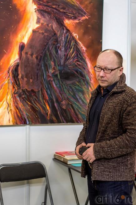 Альберт Тимиршин на «Арт-галерее. Казань — 2013»::Арт-галерея 2013 на Казанской ярмарке