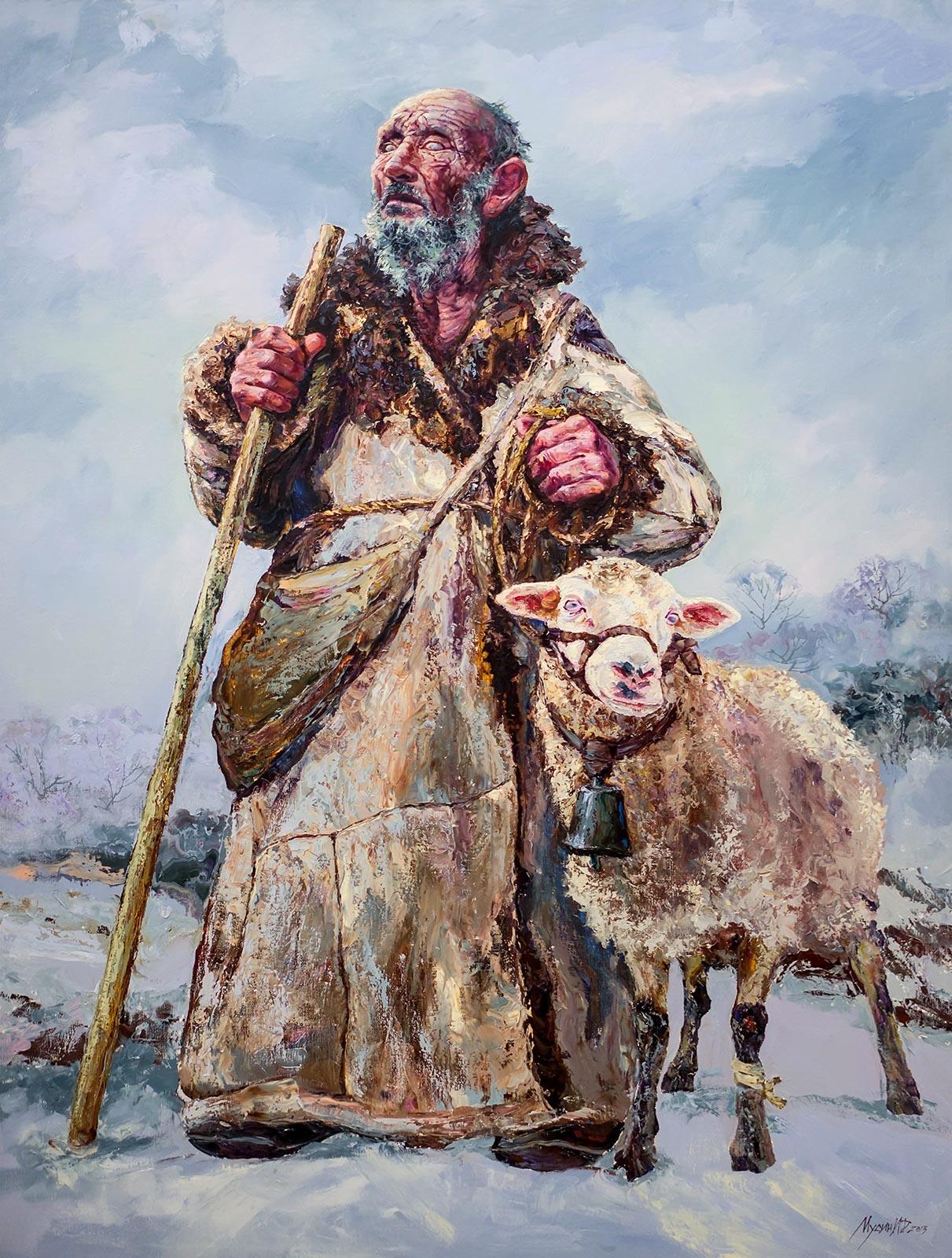 Фото №140115. Работа Ирика Мусина, часть экспозиции художника на «Арт-галерее. Казань — 2013»