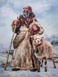 Работа Ирика Мусина, часть экспозиции художника  на «Арт-галерее. Казань — 2013»