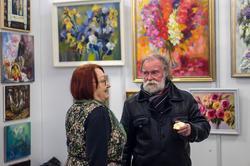 Э. Бусова на «Арт-галерее. Казань 2013»