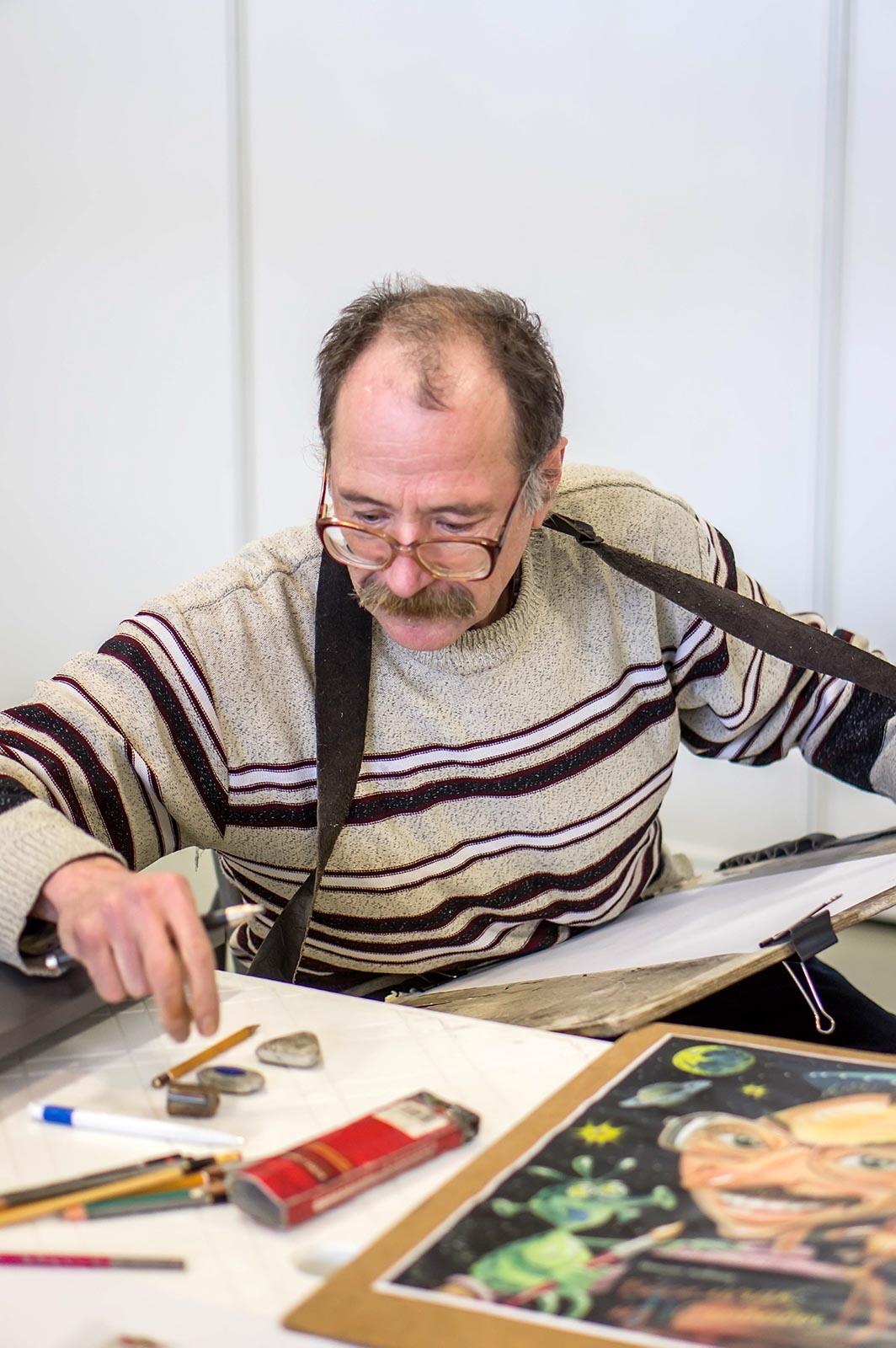 Фото №140133. Азимов Ильдус на «Арт-галерее. Казань 2013»