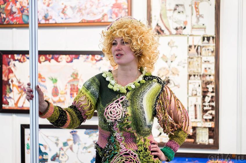 Фото №140145. Черкасова Валерия — Девушка-Весна на «Арт-галерее. Казань 2013»
