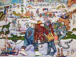 Петр Фролов (Санкт-Петербург) ''С'' (слон, садовник, скрипка и т.д.)