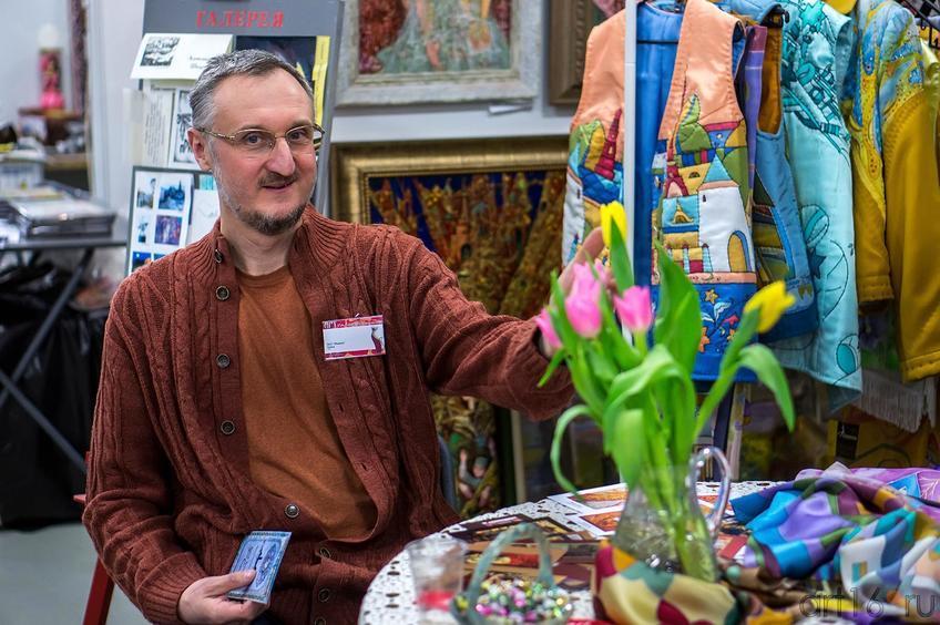 Скобеев Виталий на «Арт-галерее. Казань —2013»::Арт-галерея 2013 на Казанской ярмарке