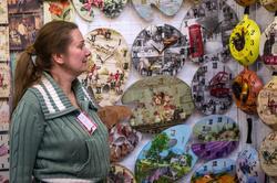 Елена Ежовкина. Декупаж. На «Арт-галерее. Казань —2013»