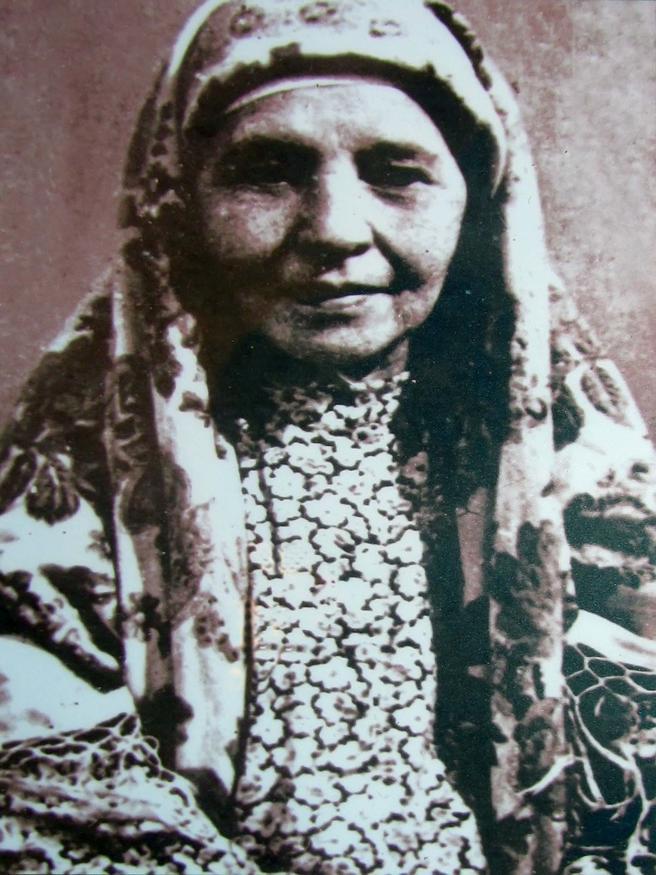Фото №43016. Саджида — сводная сестра матери Габдуллы Тукая. 1940г.