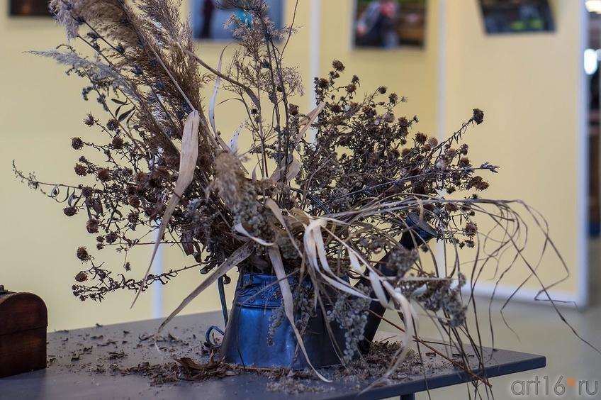 Фото №140679. Букет сухоцвета, собранный К.Матвиенко на Казанской ярмарке