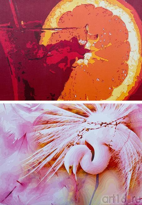 Живописный Рендеринг в стиле Поп-Арт (Дмитрий и Ольга Пастернак)::Арт-галерея 2013, на Казанской ярмарке ( ч.2)