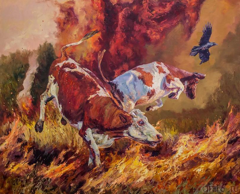 Ирек Мусин. Размышления о конце Света::Арт-галерея 2013, на Казанской ярмарке ( ч.2)
