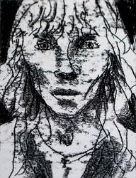 Монотипия с мастер-класса Ю.Штапакова на «Арт-галерее. Казань — 2013»