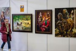Фрагмент экспозиции Александра Шадрина