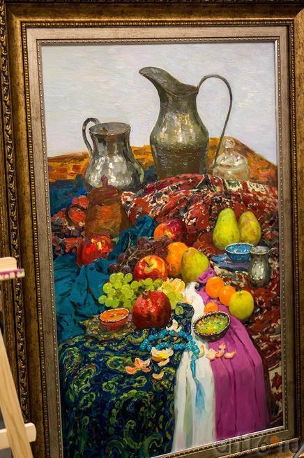 Незаконченная работа Рустема Хузина. 23 февраля 2013 ::Арт-галерея 2013, на Казанской ярмарке ( ч.2)