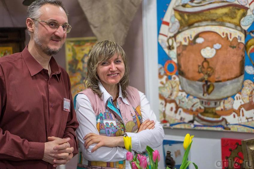 Виталий Скобеев, Галина Орлова::Арт-галерея 2013, на Казанской ярмарке ( ч.2)