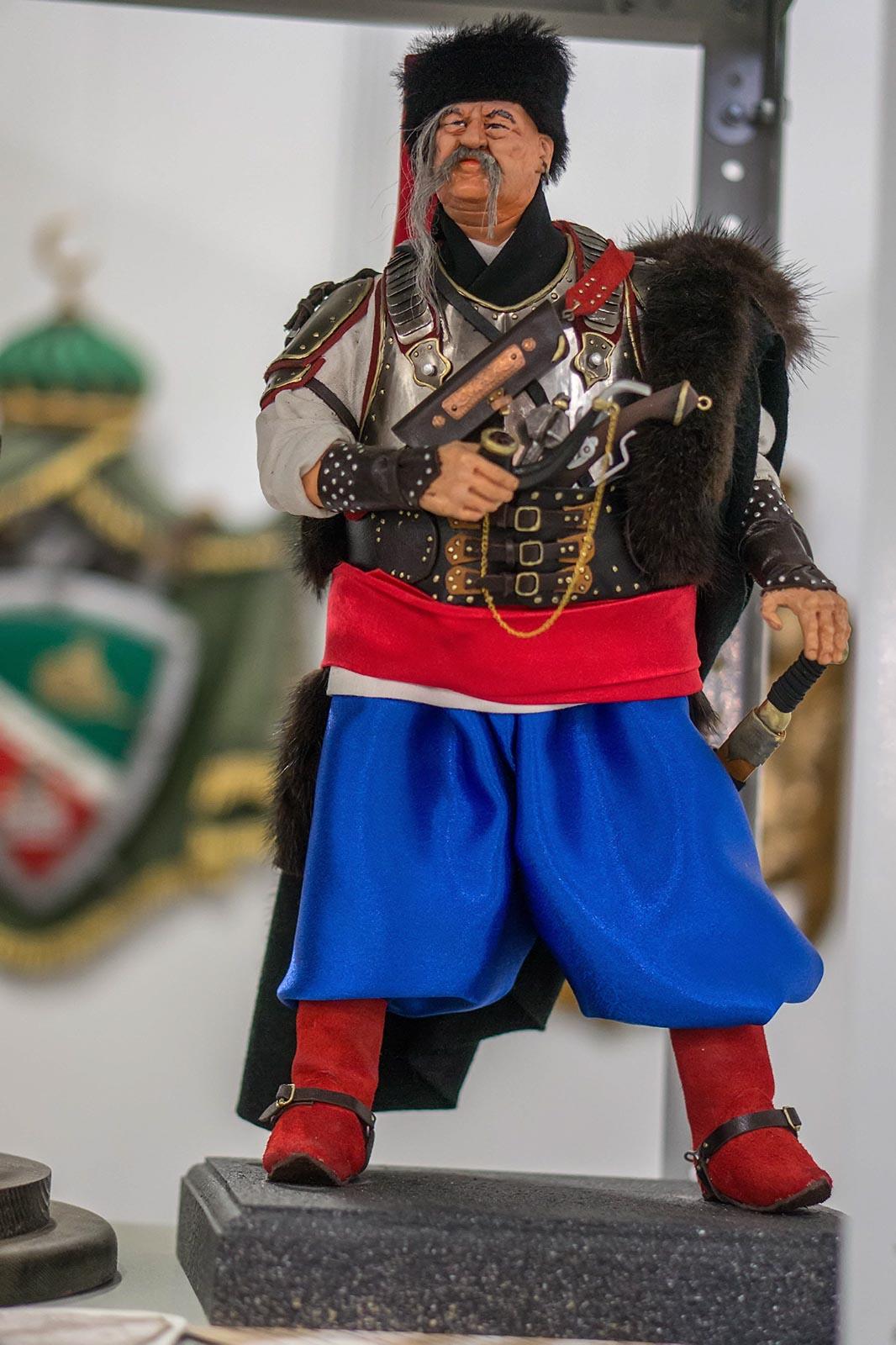 Фото №140973. Запорожский казак. Авторская кукла. Бочкарев Александр Иванович (Казань)