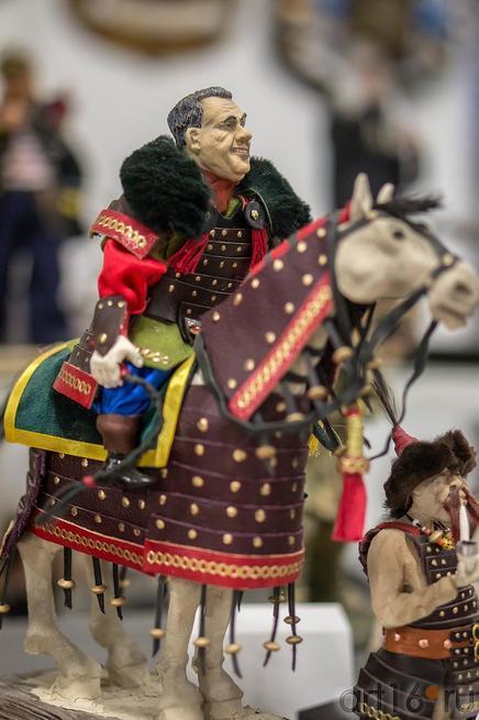 Портретная кукла. Бочкарев Александр Иванович (Казань)::Арт-галерея 2013, на Казанской ярмарке ( ч.2)