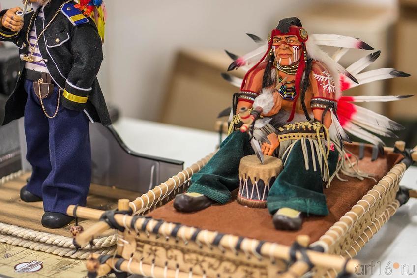 Авторская кукла. Бочкарев Александр Иванович (Казань)::Арт-галерея 2013, на Казанской ярмарке ( ч.2)